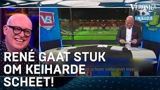 René gaat stuk om keiharde scheet op live TV | VERONICA INSIDE