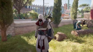 Assassin's Creed - Origins: High Level Nightmare New Game Plus Gameplay Max lvl (Lvl 45) New Guest!