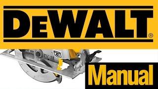 Dewalt dwe 575 lightweight circular saw most popular videos how to install blade dewalt circular saw dewalt 7 14 dwe575sb greentooth Gallery