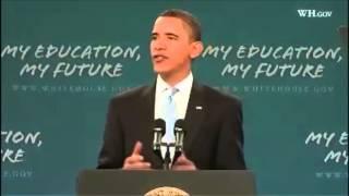 Obama's Motivational Speech to Students