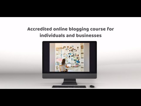 Blogging course video - YouTube
