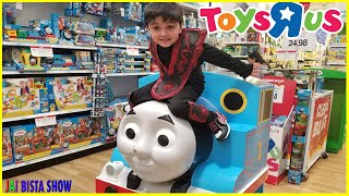 KID DRIVING PARENTS CAR TO Toys R Us | Toys Hunt at Toys R Us before Store Closing Forever