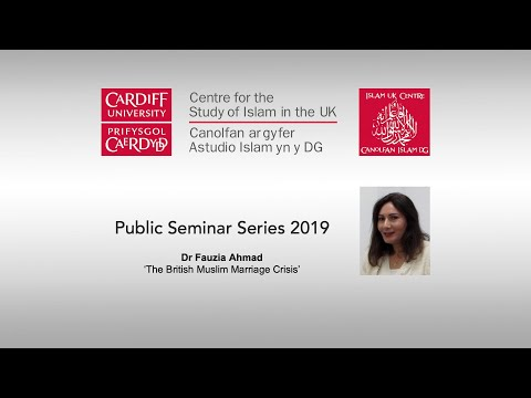 Dr Fauzia Ahmad - Centre for the Study of Islam in the UK