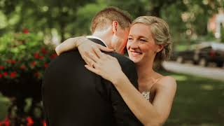Couple Writes Heartfelt Letters to One Another on Wedding Day | Anne + James