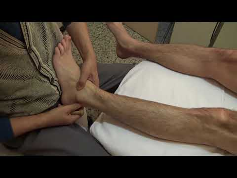 Reinigung der Gelenke und der Wirbelsäule