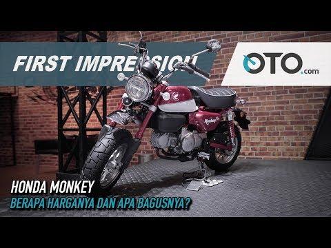 Honda Monkey | First Impression | Berapa Harganya dan Apa Bagusnya? | GIIAS 2019 | OTO.com
