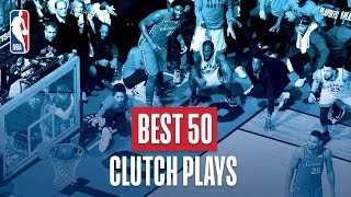 NBA's Best 50 Clutch Plays | 2018-19 Season