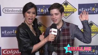 Натан Кресс, iCarly's Nathan Kress & Ashley Argota Interview Each Other!