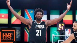 Team World vs Team Africa Full Game Highlights | August 4, 2018 NBA Africa Game