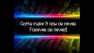 Cinema Bizarre-Forever or never-Lyrics Video
