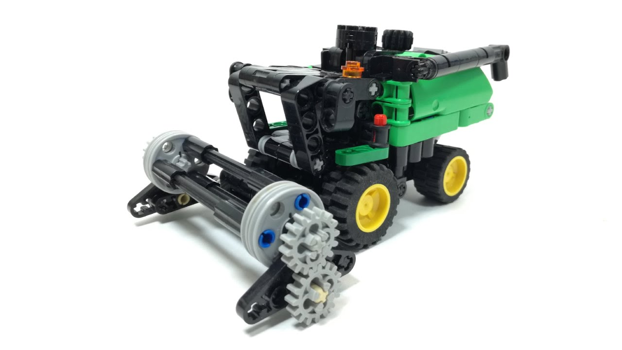 Lego Technic Mini Combine Harvester