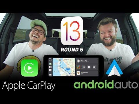 NEWEST 2019 Apple CarPlay iOS 13 vs Android Auto – REAL WORLD TEST