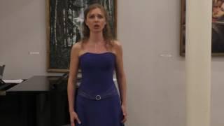 Маргарита Анисимова меццо-сопрано Я жду тебя С.В.Разманинов, сл.Давидовой