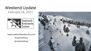 Tune in as Scott dives into what's happened over the past week and what to expect going forward. Remember, this is not a replacement for the forecast; we encourage you to check the forecast every day before heading into the backcountry. Enjoy the fresh powder!