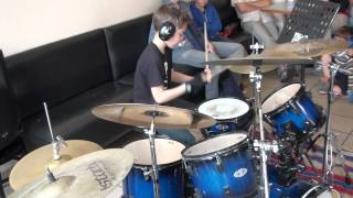 Anti Flag This is the End (For You My Friend) Drum cover