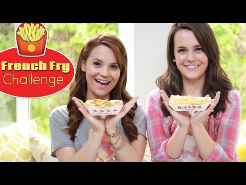 FRENCH FRY CHALLENGE!