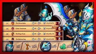 Knights and Dragons - 1000$ ARMOR. CRAZIEST T2 Guild War. 100million points+ #TNT #CENTS Air/Air SF
