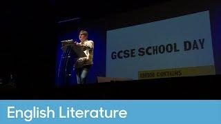 Simon Armitage performs his poem Kid   English Literature - Contains Strong Language