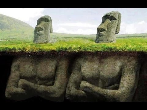 The Hidden Secrets Of The Statues On Easter Island