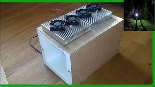 Doppel Kühlbox selber bauen [2 Peltierelemente] DIY mini Kühlschrank