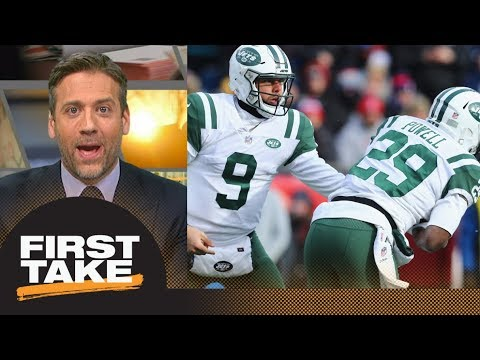 Max goes off about Jets' trade with Colts: I hate this for the Jets | First Take | ESPN