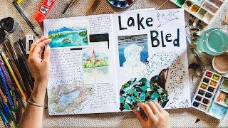 A Dreamy Day On A Lake   Travel Journal With Me