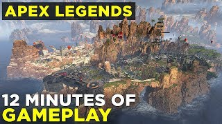 Apex Legends GAMEPLAY! | Titanfall battle royale world premiere
