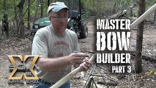 Solid Hickory Longbow Built Using a Rudder Bow Kit - Part 1