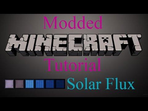 Modded Minecraft Tutorial - Solar Flux