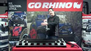 Go Rhino: WLF Windshield Light Frame for Wrangler JK