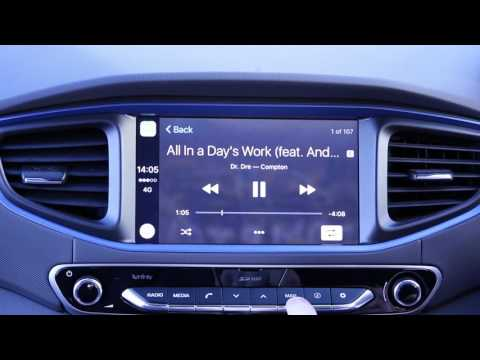 Hyundai IONIQ Apple Car Play