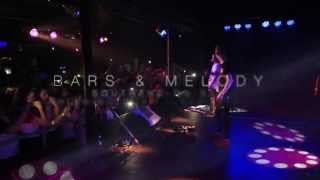 Bars and Melody - Shining Star/Aeroplanes (live at Southend on Sea)