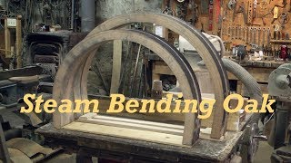 Steam Bending | Heavy Wagon Felloes | Wheelwright | Engels Coach