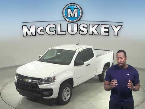 New 2021 Chevrolet Colorado Work Truck