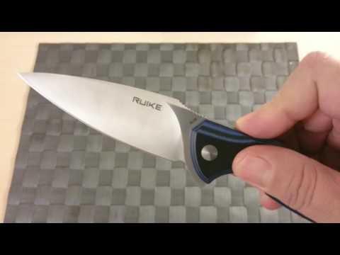 Ruike Ruike Kés P105-K Fekete-Szürke videó