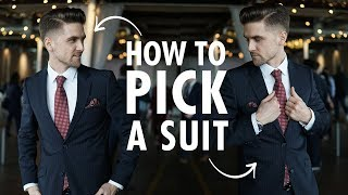 How To Pick A Suit - Mens Formal And Business Casual Suits For Spring