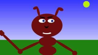 Polámal se mraveneček ví to celá obora - říkanka