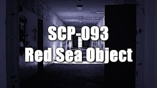 SCP-093 Red Sea Object  | Euclid | portal / extradimensional scp