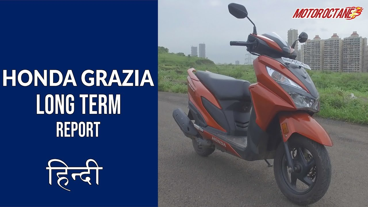 Motoroctane Youtube Video - Honda Grazia Long Term Report 1 | Hindi | MotorOctane