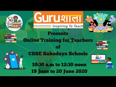 Gurushala Online Teacher Training (19 June 2020) - YouTube