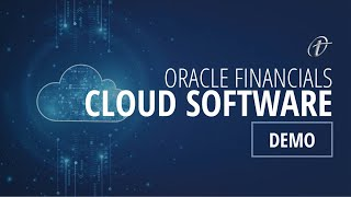 Oracle Financials Cloud Software Demo