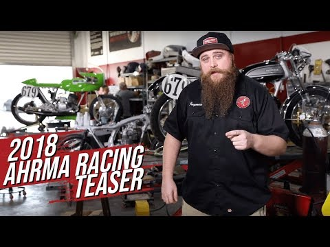 Dime City Cycles AHRMA Motorcycle Racing Teaser 2018