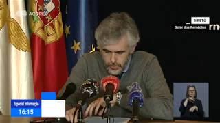 19/05: Ponto de Situação da Autoridade de Saúde Regional sobre o Coronavírus nos Açores