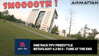 FPV Freestyle One Pack - Betaflight 4.2 RC4 tune - Armattan Marmotte