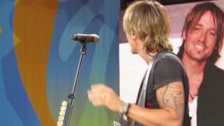 Keith Urban Blue Aint Your Color GMA Rehearsals Live  Good Morning America