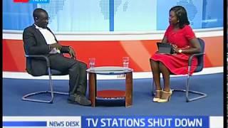 Newsdesk Interview: TV Stations shut down by CA part 2