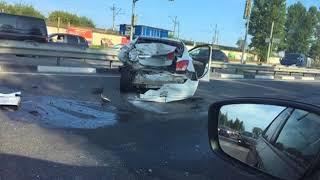На трассе М-8 вновь произошла авария