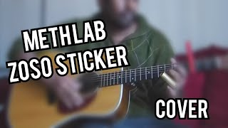 Meth lab zoso sticker by 7Horse - Guitar cover(with tabs) - The Wolf Of Wall Street OST