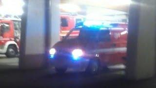 preview picture of video 'vigili del fuoco Cles partenza per incidente stradale'