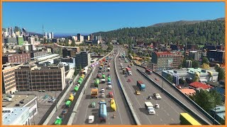 Making Traffic Use All the Lanes   Cities Skylines